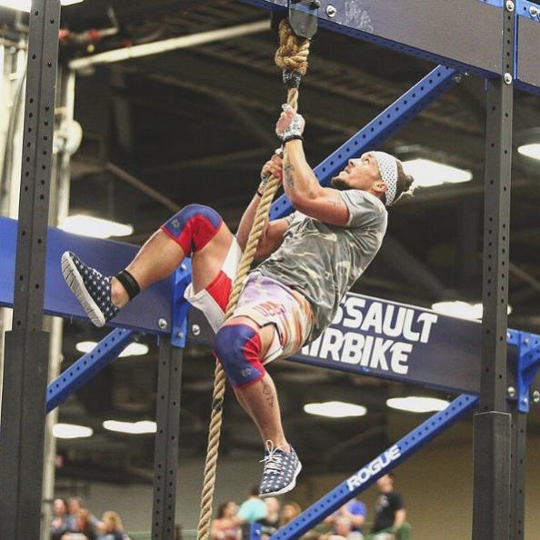 Sam Dancer Regionals Legless Rope Climbs