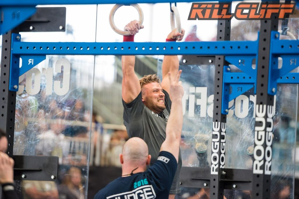 Rasmus Strict Muscle-Ups during Regional Nate 2016