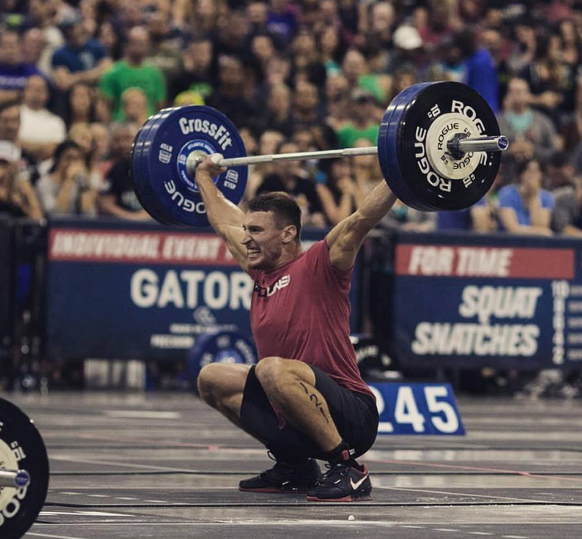 Invictus Athlete Zach ZA Anderson at the 2016 Regionals