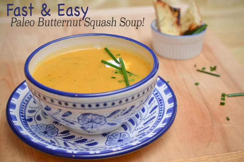 how to make butternut squash soup easy