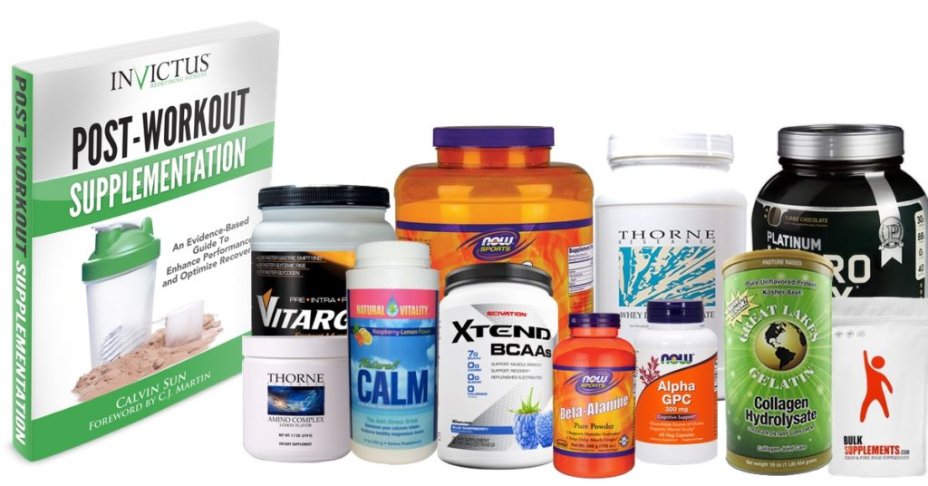 The Complete List of Recommended Supplements - Invictus Fitness