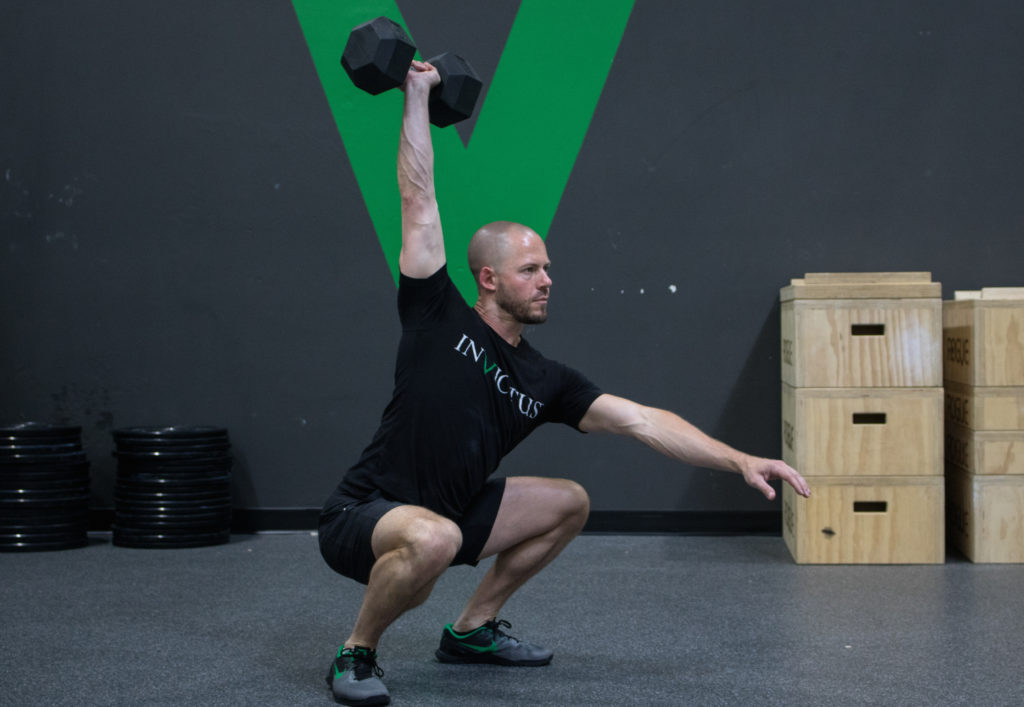 Dumbbell Overhead Squat: Exposing Mobility Sins in the