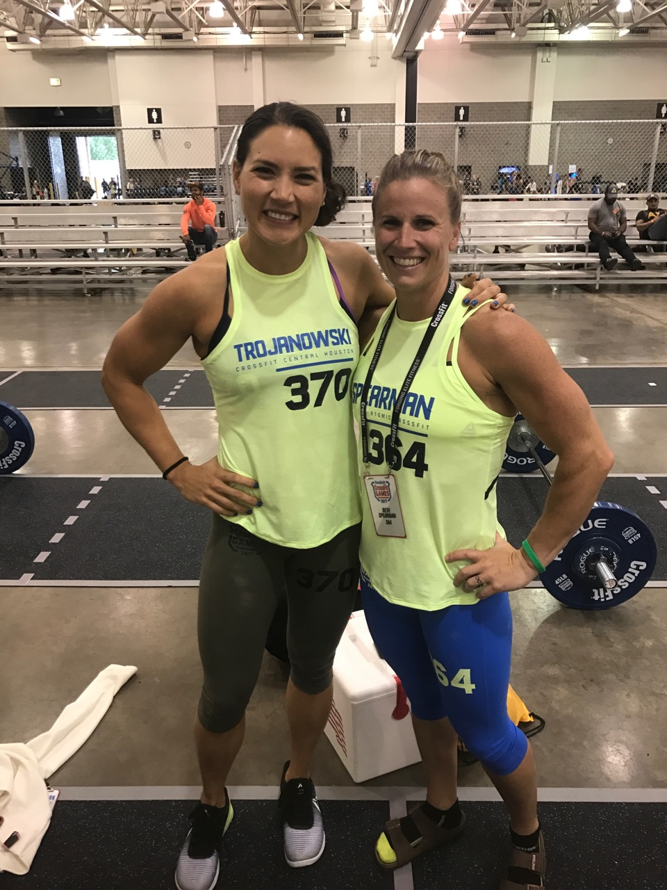 Day one of invictus at the crossfit games