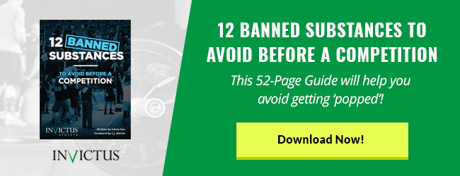 12 Banned Substances banners