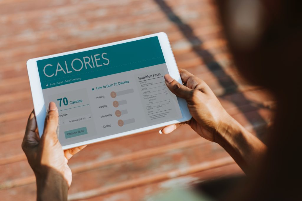Calories are not a good measure of nutrition needs.